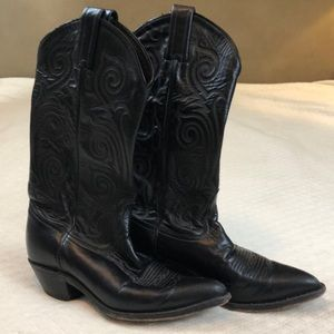 Tony Lama quality leather cowboy boot